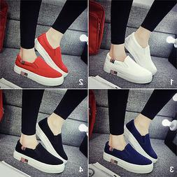 Fashion Low Top Sneakers Women's Flats Casual Shoess For 4 C