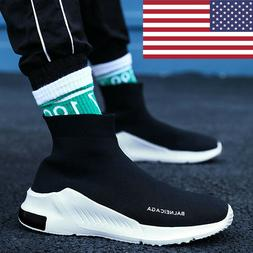 Fashion Mens Shoes Breathable Outdoors Sports Running Sneake