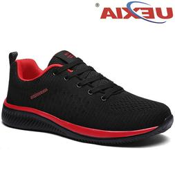 UEXIA Fashion Mesh Men Casual Shoes Lac-up Men Shoes <font><