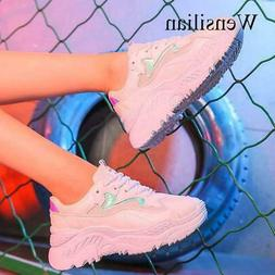 Fashion Sneakers For Women Trainers Platform White Sneakers