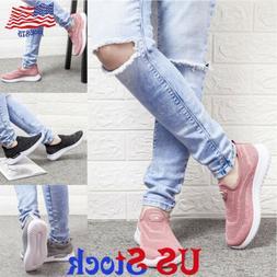 Fashion Women's Comfortable Casual Walkng Shoes Slip Ons Sne