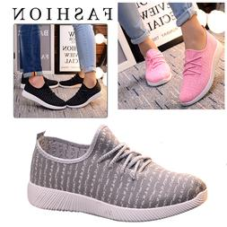 Fashion womens Casual Running sport shoes Athletic Sneakers