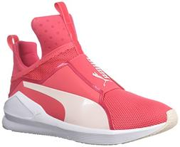 PUMA Women's Fierce Core Sneaker, Paradise Pink White, 7.5 M
