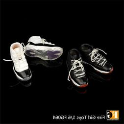 Fire Girl Toys 1/6 FG064 hollow lace-up Basketball Sneakers