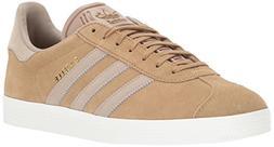 adidas Originals Gazelle Sneaker,Craft Canvas/Trace Khaki/Wh