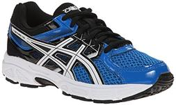 ASICS Gel Contend 3 GS Running Shoe , Electric Blue/White/Bl