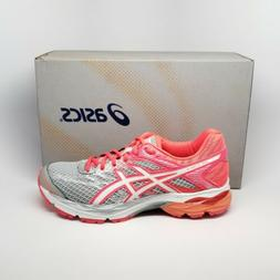 Asics Gel-Flux 4 Road Running Shoes Sneakers Grey White Pink