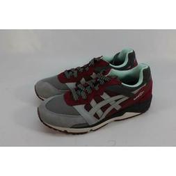 ASICS Gel-Lique Men's Red/Grey Casual Sneakers 9M