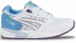 ASICS Women's Gel Saga Retro Running Shoe, White/White, 8.5