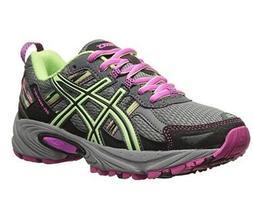 ASICS Women's Gel-venture 5 Running Shoe, Titanium/Pistachio