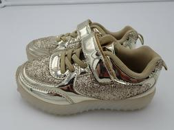 Girl's Toddler Sequin Glitter Athletic Shoes Casual Walking