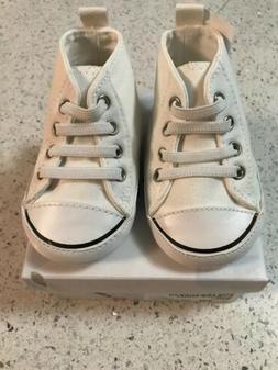 Girls/Infant AIRWALK Legacee White Hi-Top Sneakers SOFT Slip