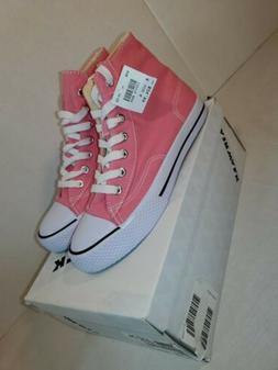 AIRWALK Girl's Size 4 Pink White Legacee High Top Lace Up