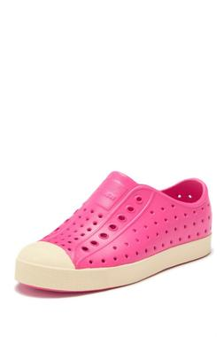 Girls Native Slip-On Hot Pink Jefferson Water Friendly Slip-