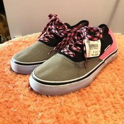Airwalk Girl's Sneakers Black/Pink/Grey Size 3