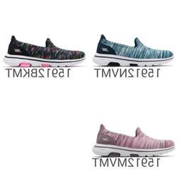 Skechers Go Walk 5 Glowing Women Casual Slip On Shoes Sneake
