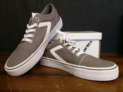 Airwalk Grey White Woman's Rieder Pro Sneaker 7 Regular-Bran