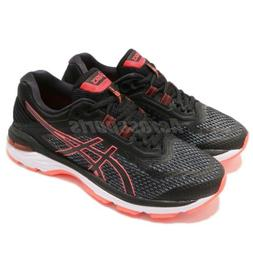 Asics GT-2000 6 D Wide Black Flash Coral Women Running Shoes