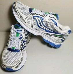 Saucony Guide 5 Womens Running Shoes Sneakers White Blue Pro