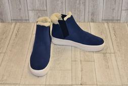 The Fix High Top Shearling Trim Sneaker-Women's Size 8.5B Na