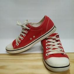 Crocs Hover Lace Up Sneakers Size 8 Womens red
