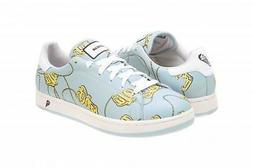 REEBOK ICE CREAM LOW SNEAKERS WOMEN SHOES WHITE/BLUE PRINT *