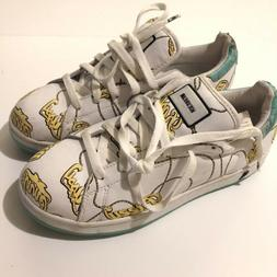 ICE CREAM LOW SNEAKERS WOMEN SHOES WHITE/PRINT SIZE 8 LOW #0