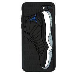 """iPhone 8+ 5.5"""" Case, Jordan 11s 3D Textured Sneaker Shockpro"""