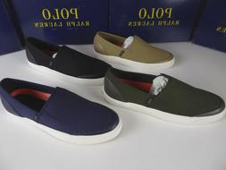 Polo Ralph Lauren Itford Cotton Canvas Sneaker Slip On Shoes