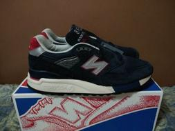 J Crew X New Balance 998 M998JC1 Navy Suede Sneakers Mens Si