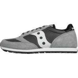 Saucony Jazz Low Pro Shoe - Men's Grey/White, 8.5