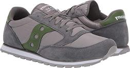 Saucony Originals Men's Jazz Low Pro Grey/Green/Green 13 D U
