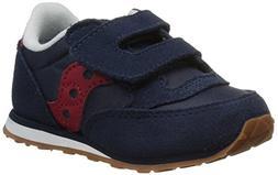 Saucony Jazz Hook & Loop Sneaker , Navy/Red, 11.5 M US Littl