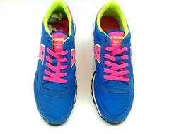 Saucony JAZZ Low Pro Sneakers Women  Sz 9.5 M Blue/Pink