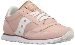 Saucony Originals Women's Jazz Low Pro Sneaker,Tan White,8 M