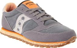 Saucony Originals Men's Jazz Low Pro Vegan Sneaker,Charcoal/