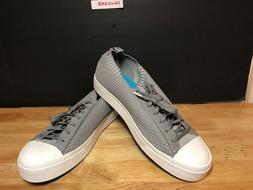 NATIVE Jefferson 2.0 LiteKnit Sneaker Men's Size 12-Grey/Whi