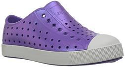 Native Jefferson Slip-On Sneaker,Techno Purple Iridescence,5