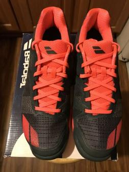 Babolat Jet Mach Men's Tennis Shoes Sneakers - Gray/Red