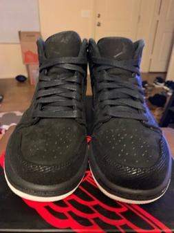 """Jordan 1 Mid """"Suit and Sneakers"""" size 8.5 DS"""