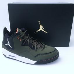 Nike Jordan Courtside 23 Mid Top Sneakers Men's Olive Canvas