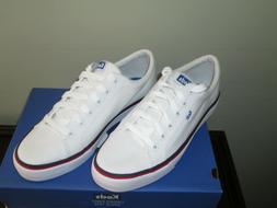 jump kick twill white sneakers size 9
