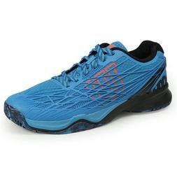 Wilson KAOS Men's Tennis Shoes Sky Blue Racquet Racket Court