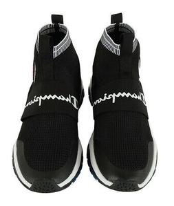 Champion Kid's Rally Pro Knit Sneakers Black-7