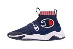 Champion Kid's Rally Pro Knit Sneakers Navy