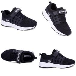Kids Athletic Tennis Shoes Lightweight Running Breathable Sn