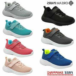 DREAM PAIRS Kids Boys Girls Breathable Sneakers Running Shoe