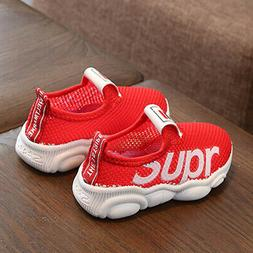 Kids Boys Girls Trainers Sports Running Shoes Sneakers Baby