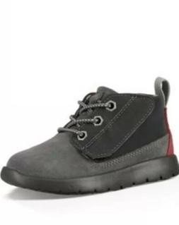 Kids UGG Canoe Chukka Sneaker for Little Boys Youth Black Gr