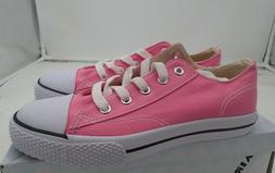Airwalk Kids' Girls' Legacee Sneaker pink rose & white lace